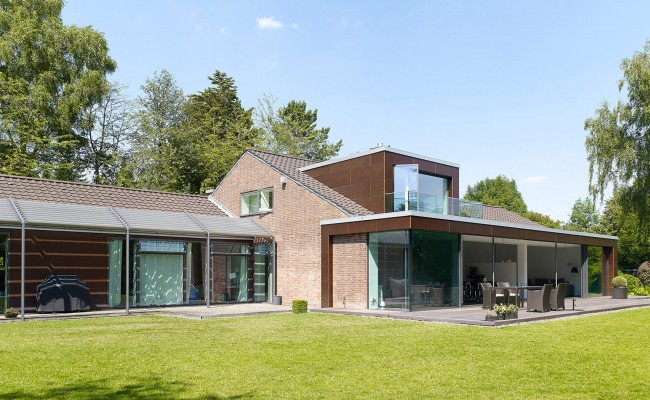 Anbau und Sanierung eines Einfamilienhauses in Hannover