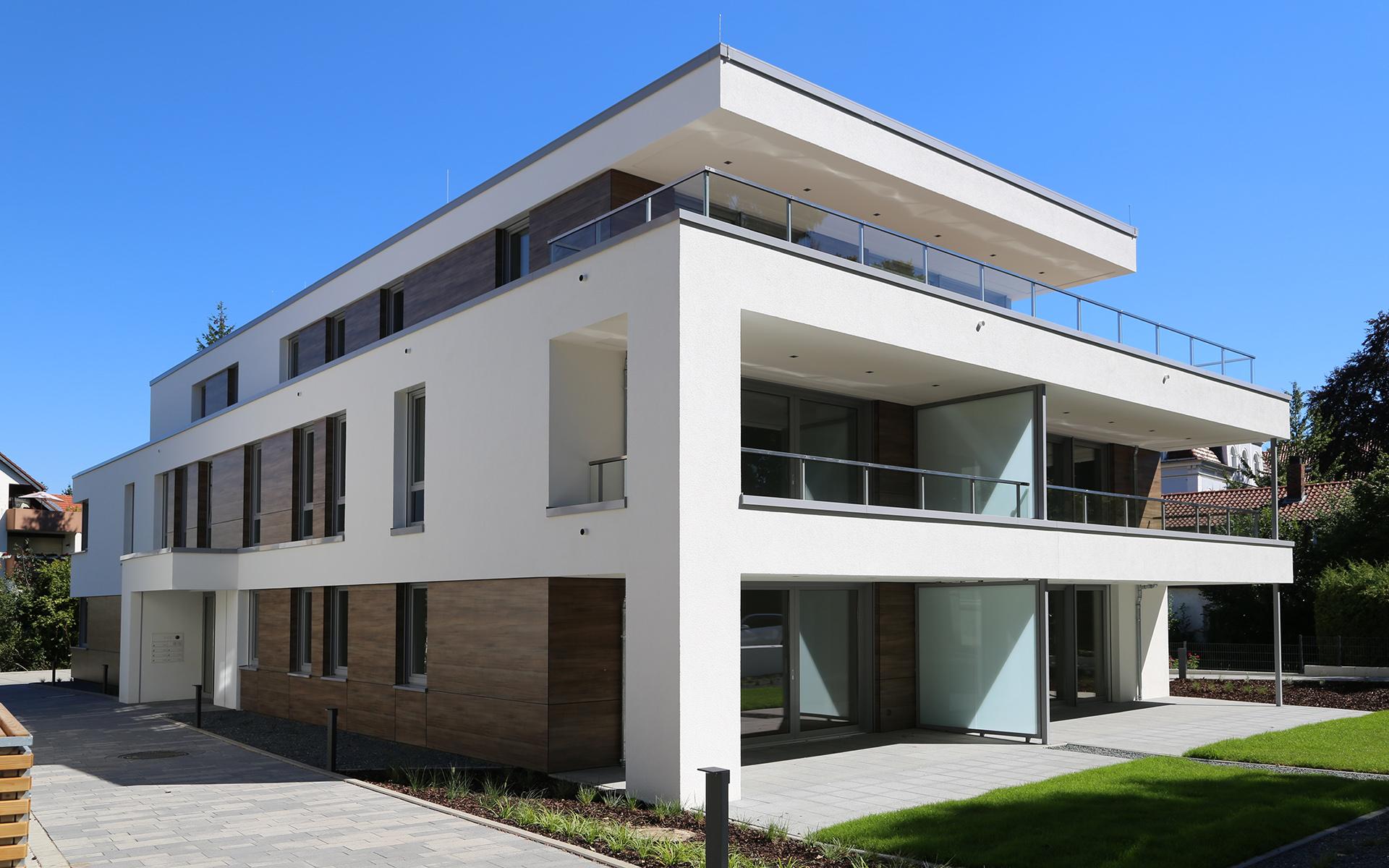 Bwv grosse venedig jung architekturb ro for Mehrfamilienhaus modern