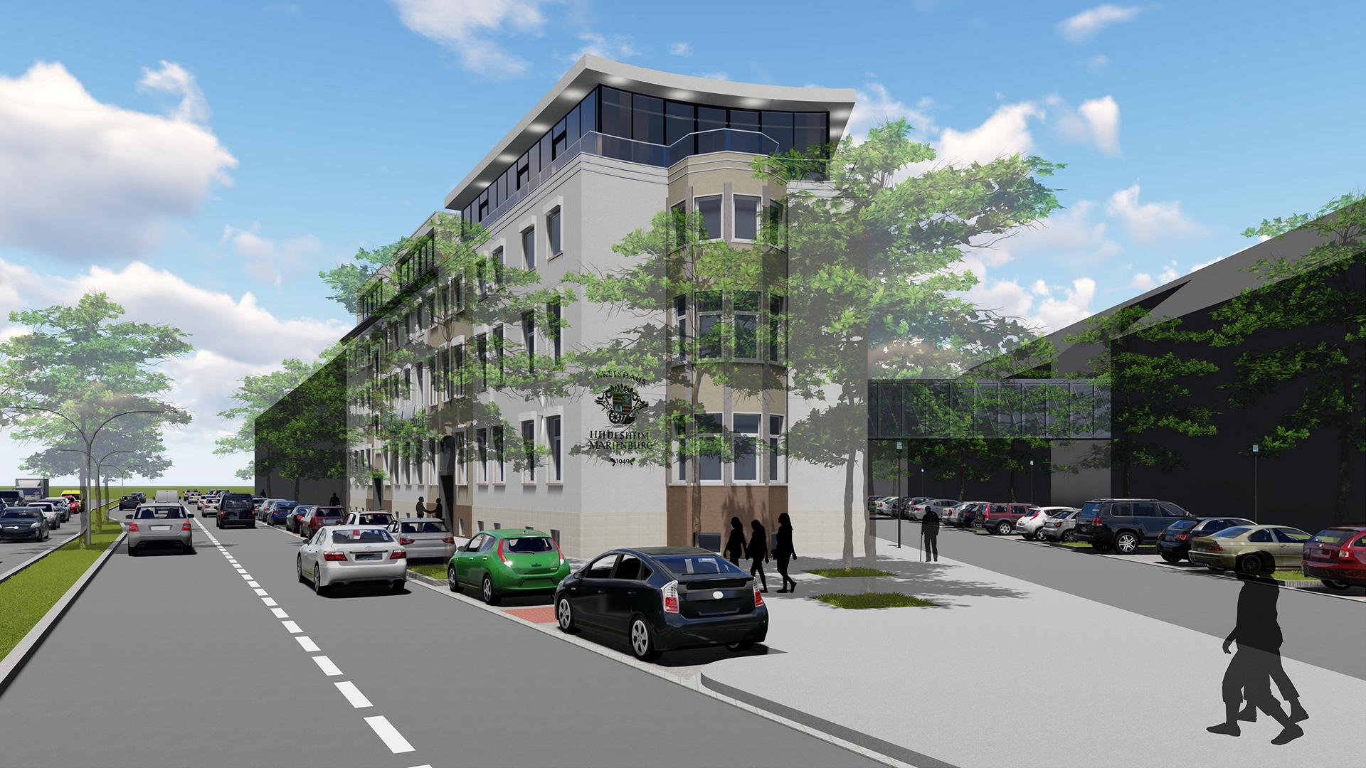 kwg kaiserstrasse jung architekturb ro innenarchitekturb ro hildesheim. Black Bedroom Furniture Sets. Home Design Ideas