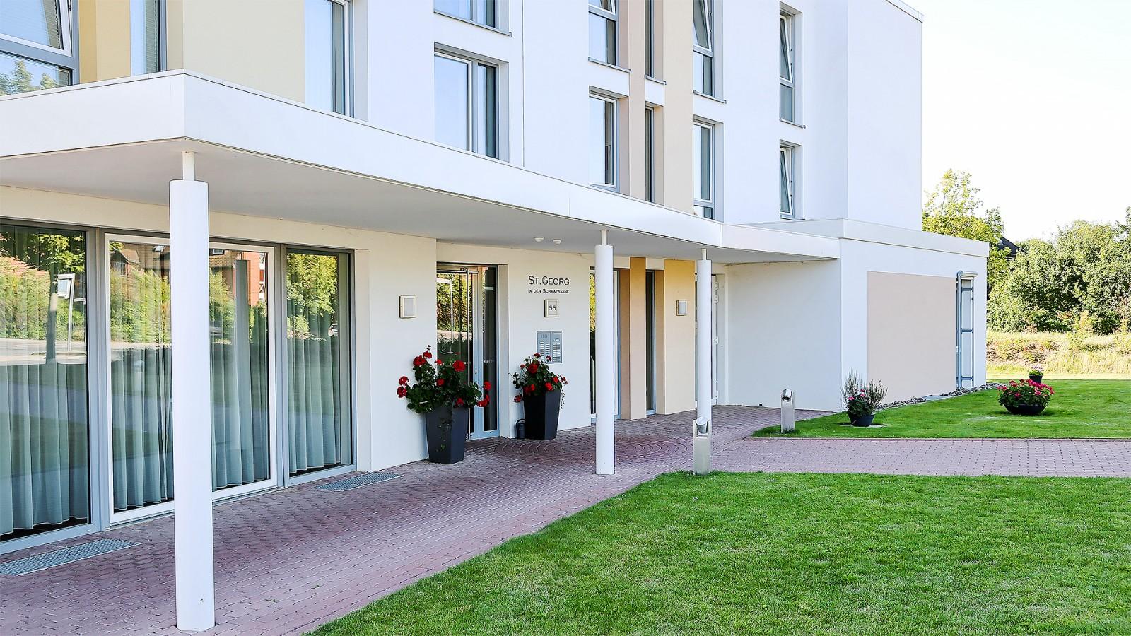 """Wohnen und Pflege im Alter """"Haus St Georg"""" JUNG"""