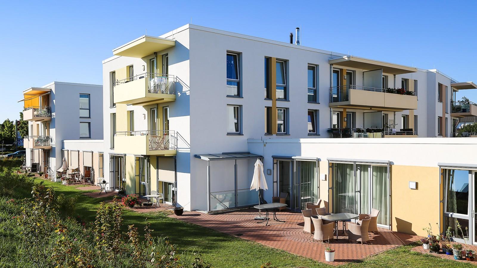 wohnen und pflege im alter haus st georg jung architekturb ro innenarchitekturb ro. Black Bedroom Furniture Sets. Home Design Ideas