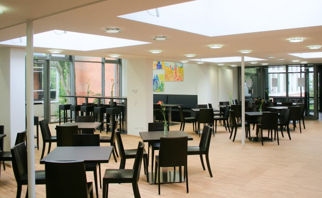 Universitätsneubau Lübecker Strasse | Neues Café im bestehenden Gebäude
