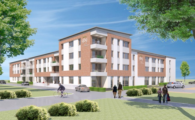 Neubau Betreutes Wohnen in Hildesheim