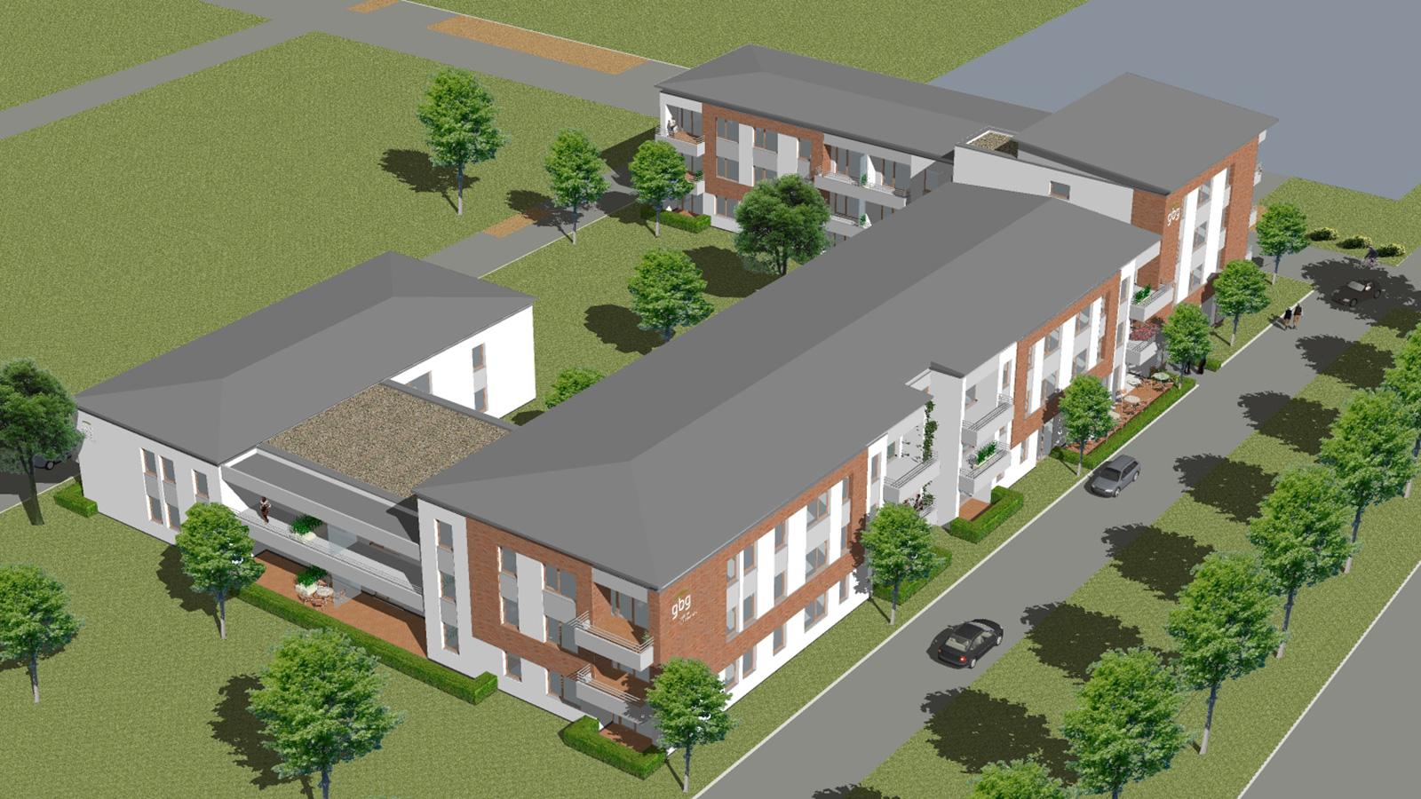 neubau betreutes wohnen in hildesheim jung. Black Bedroom Furniture Sets. Home Design Ideas