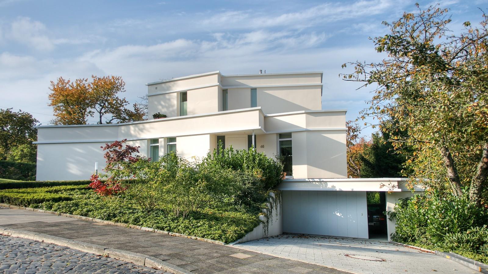 neubau eines modernen einfamilienhauses in hildesheim. Black Bedroom Furniture Sets. Home Design Ideas
