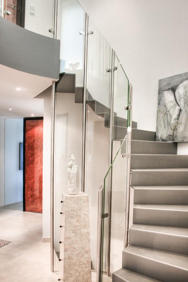 neubau eines modernen einfamilienhauses in hildesheim jung architekturb ro. Black Bedroom Furniture Sets. Home Design Ideas