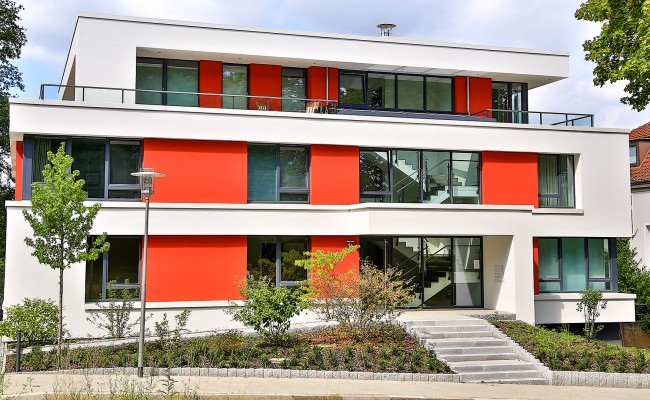 Neubau Mehrfamilienhaus in Hildesheim |