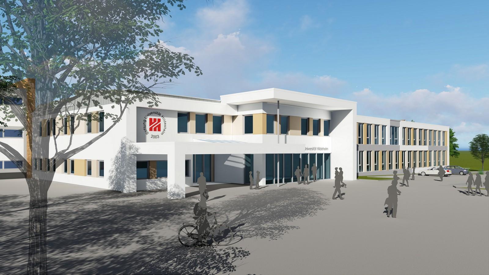 Universität Hildesheim Samelsonplatz | JUNG - Architekturbüro, Innenarchitekturbüro Hildesheim