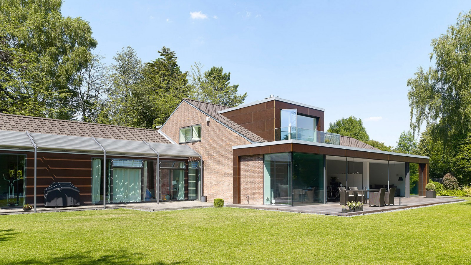 Anbau und Sanierung eines Einfamilienhauses in Hannover | JUNG - Architekturbüro, Innenarchitekturbüro Hildesheim