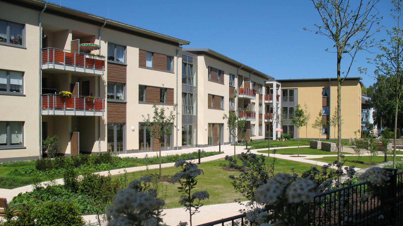 Neubau von betreuten Wohnungen in Hildesheim | JUNG - Architekturbüro, Innenarchitekturbüro Hildesheim