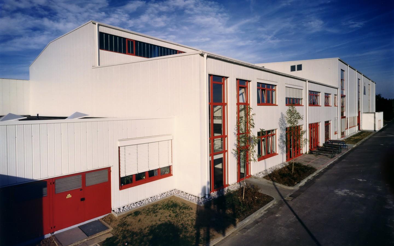 Magna Fabrikgebäude in Salzgitter