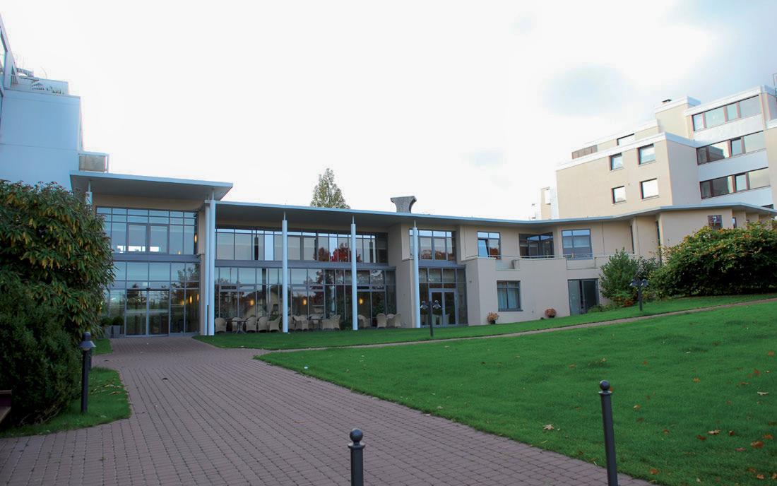 Eingangsgebäude Christophorusstift