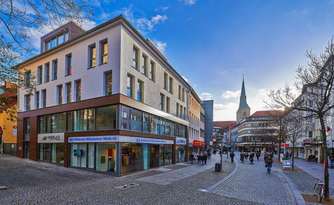 Volksbank in der Hildesheimer Innenstadt