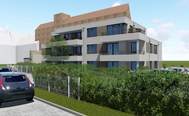 Neubau eines Mehrfamilienhauses in der Theaterstraße |