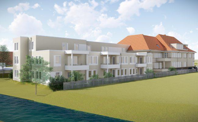 Umbau eines Altenpflegeheims zum Betreuten Wohnen |