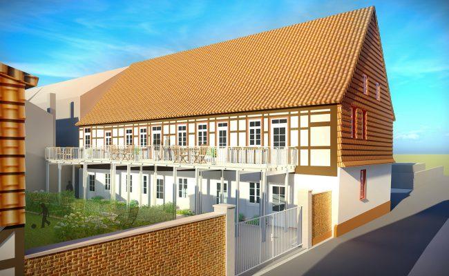 Umbau des ehemaligen Waisenhauses in Einbeck |