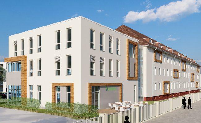 BWV Umbau eines Bestandsgebäudes im neuen Ostend-Quartier |