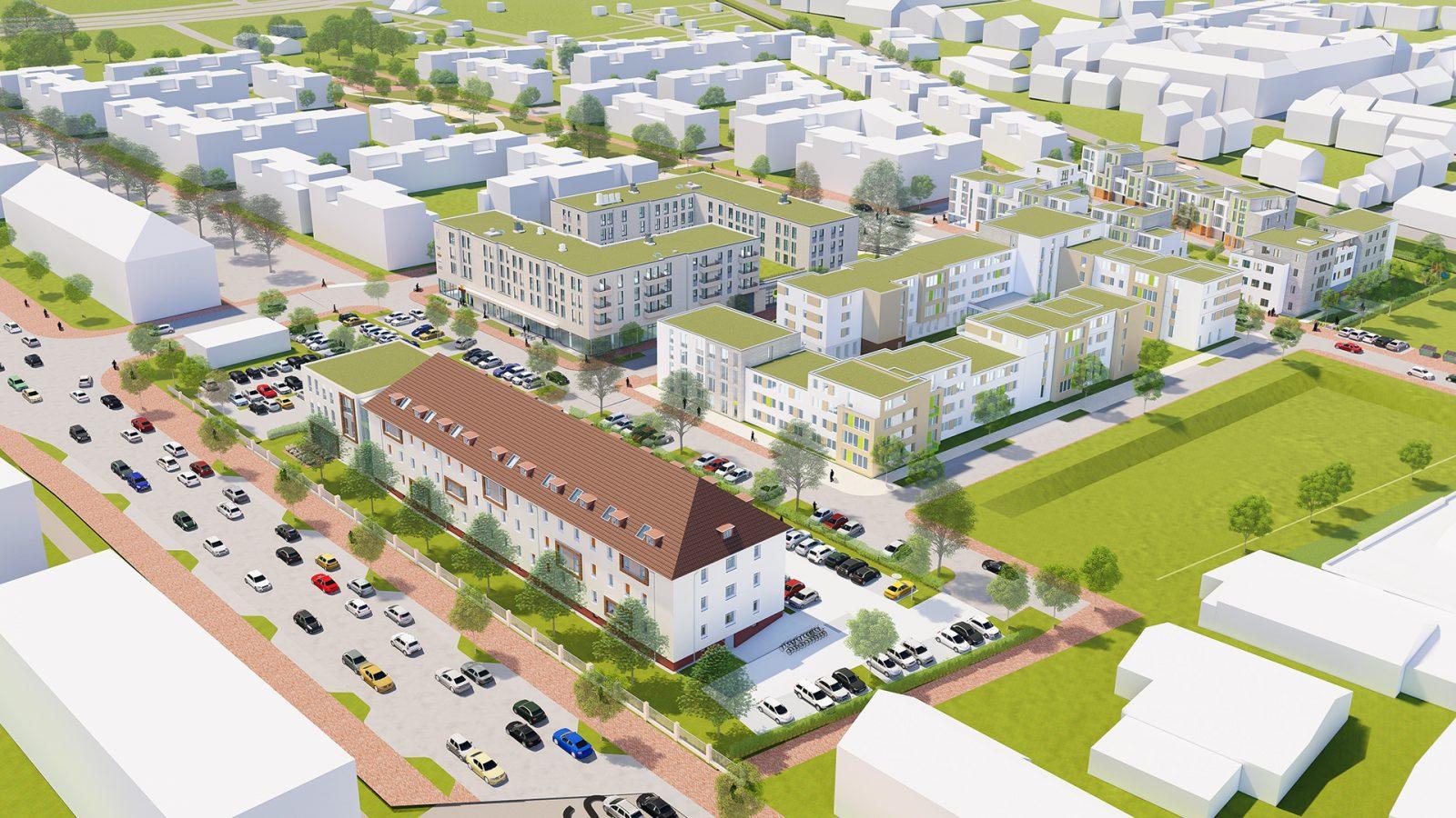 BWV Ostend-Quartier | JUNG - Architekturbüro, Innenarchitekturbüro Hildesheim