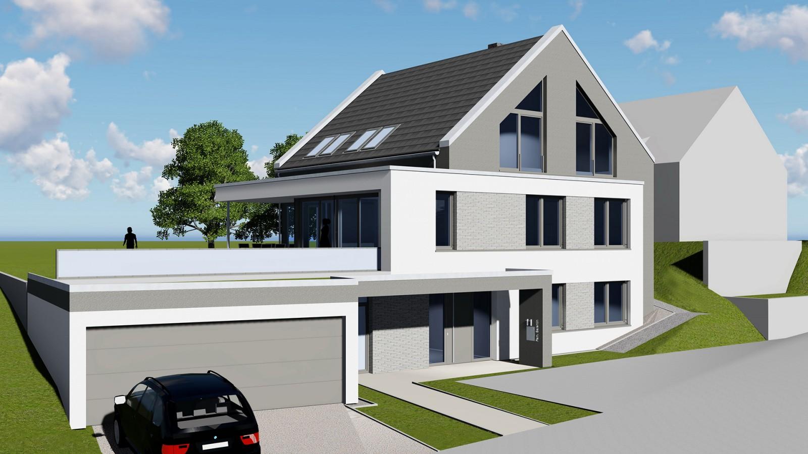 Neubau Einfamilienhaus in Itzum Hohe Rode | JUNG - Architekturbüro, Innenarchitekturbüro Hildesheim