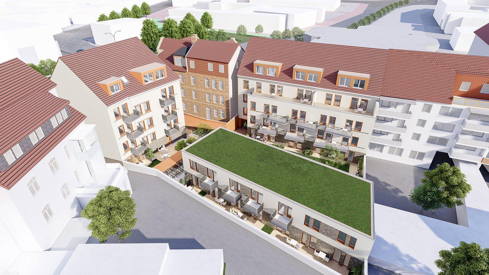 Neubau von Mirkoapartements in Einnumer Straße   JUNG - Architekturbüro, Innenarchitekturbüro Hildesheim