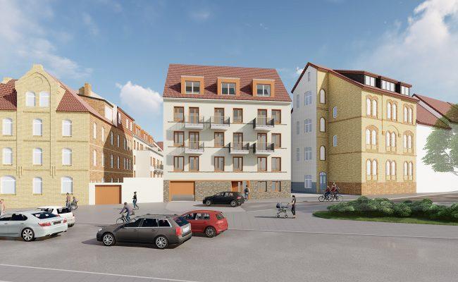 Neubau von Mirkoapartements in Einnumer Straße  