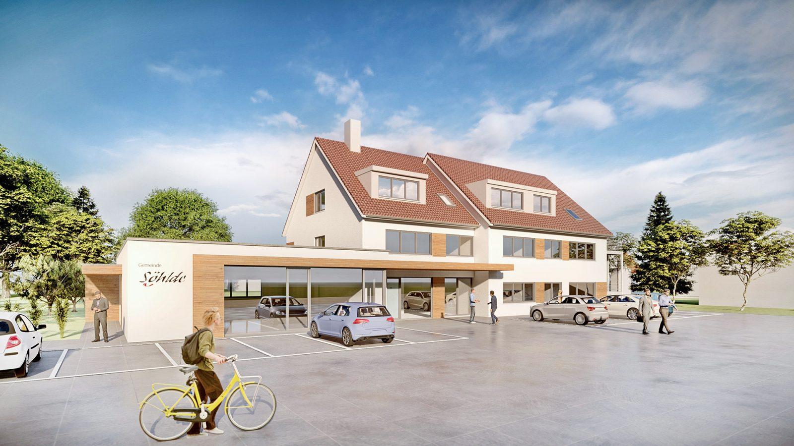 Umbau und Erweiterung Rathaus Söhlde | JUNG - Architekturbüro, Innenarchitekturbüro Hildesheim