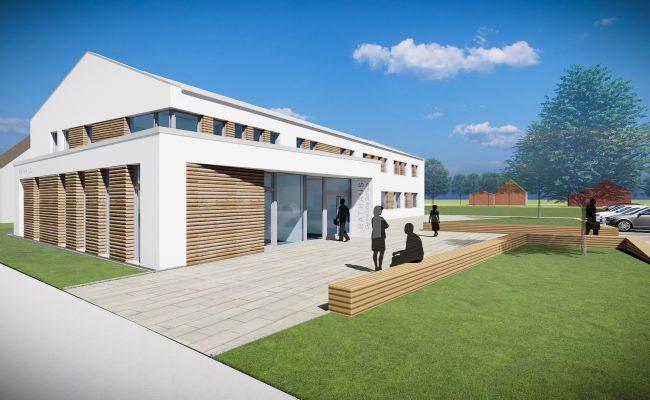 Umbau und Erweiterung Rathaus Söhlde | Entwurf für Neubauoption