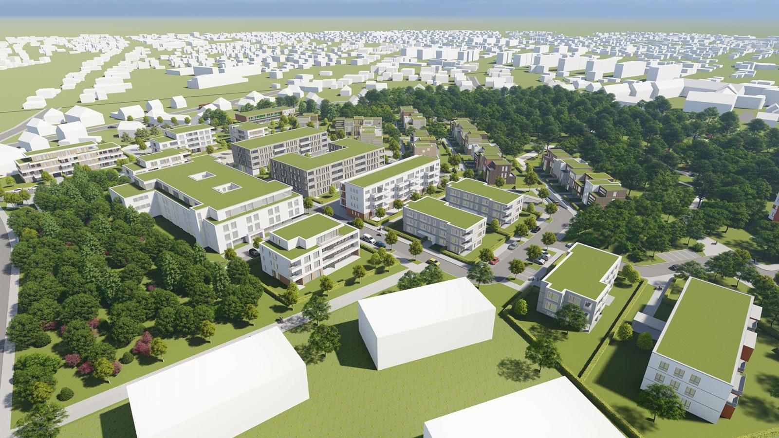 städtebauliche Studie in Gifhorn | JUNG - Architekturbüro, Innenarchitekturbüro Hildesheim